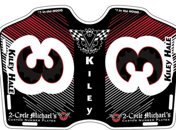 2CM Kiley Hale Side Plate