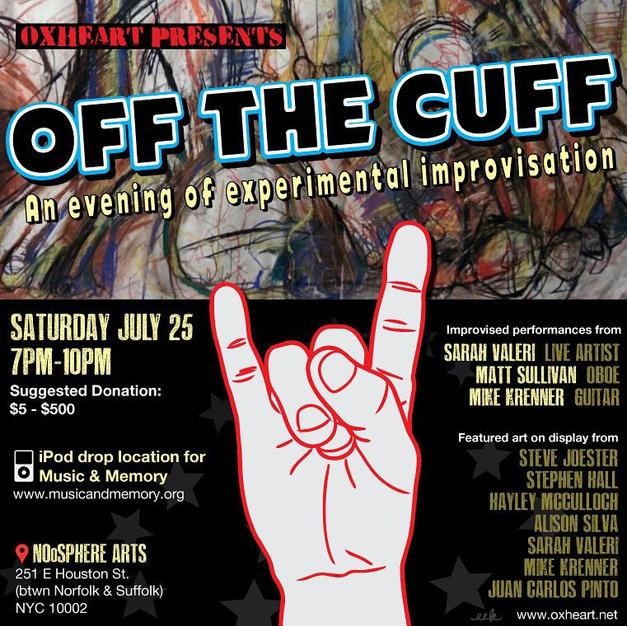 2015   Off the Cuff- RPM rock punk metal