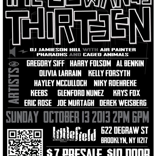 2013   The Gowanus Thirteen