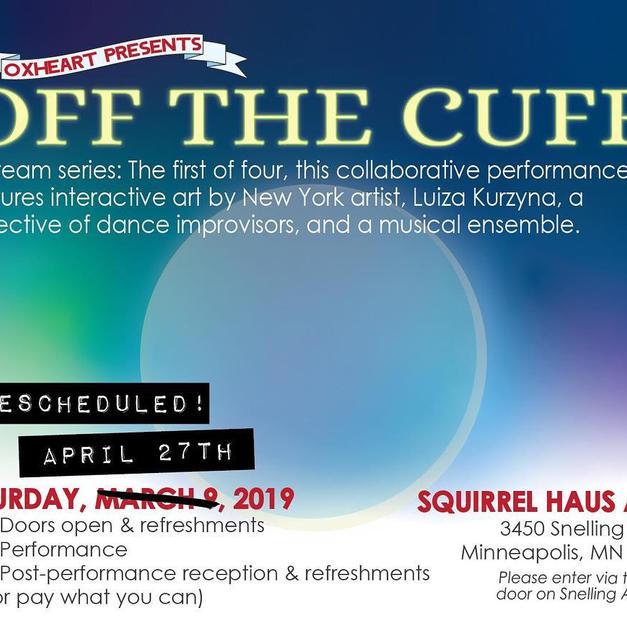 2018   Off the Cuff: dream series