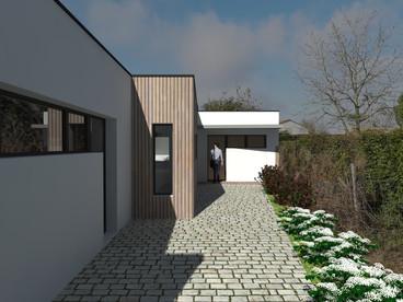 Maison contemporaine _ Aizenay (85)