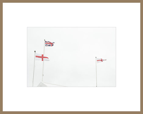 Three Flags in the Wind