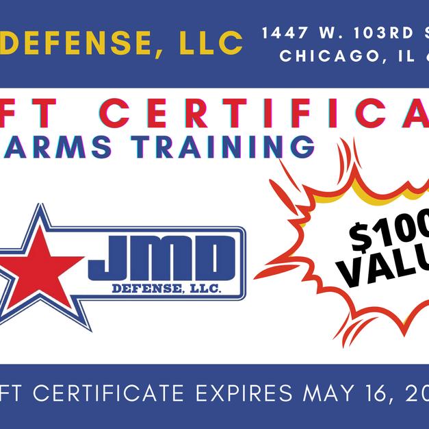 JMD Firearms Training