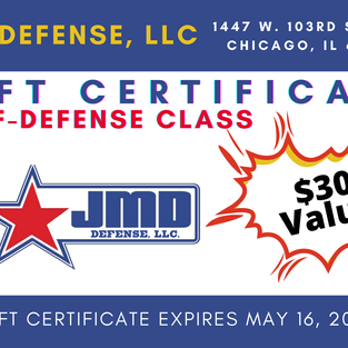 JMD Self Defense Class