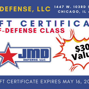 JMD Self-Defense Class