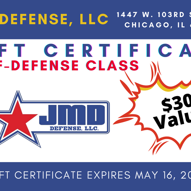 JMD Self Defense Class