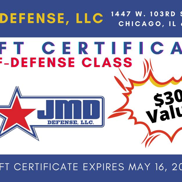 JMD Self-Defense Class