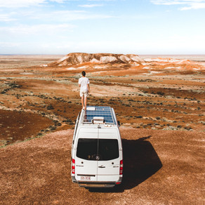 On the road, off the grid