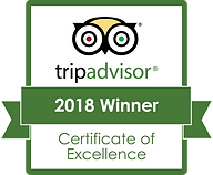 TRIP ADVISOR CERTIFICATE OF EXCELLENCE n