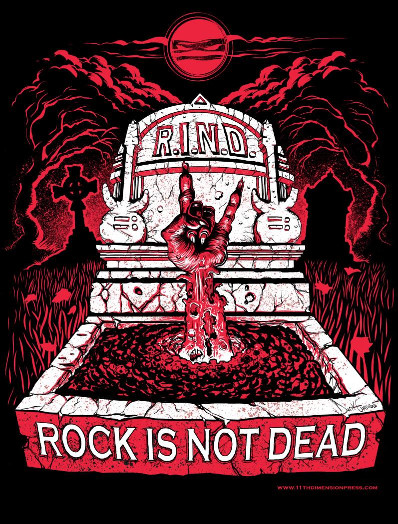Rock is Not Dead - 2-tone