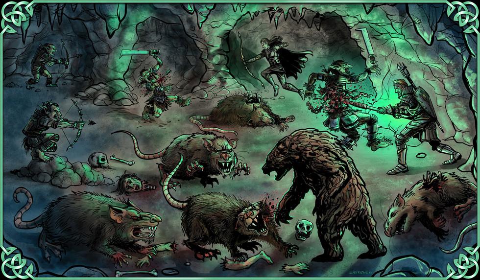 Goblin fight