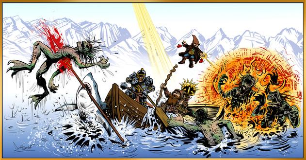 Scragg Battle