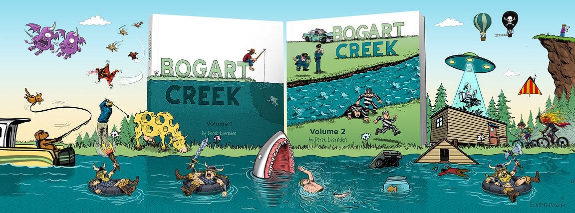 Bogart Creek Volume 1 and 2