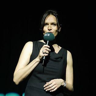 Moderatorin Karin Kuschik