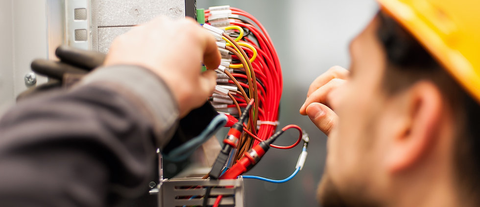 1999Electrician engineer tests electrica