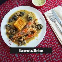 Escargot & Shrimp