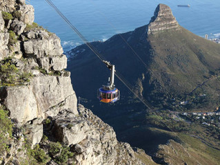 Table Mountain Cable Car Cape Town South Africa (10 Minute Drive from Circa Hotel)