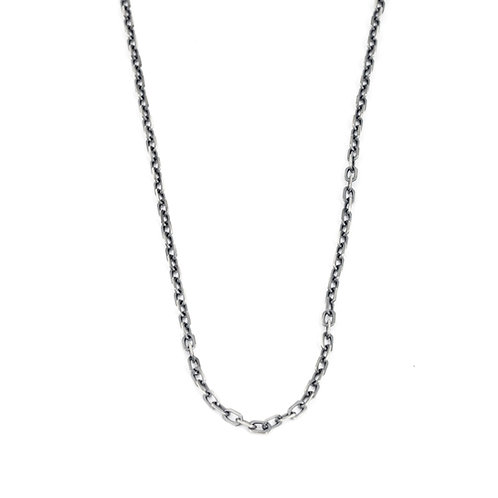 Mens Sterling Silver Chain Necklace for Men, Jewelry Gifts for Him