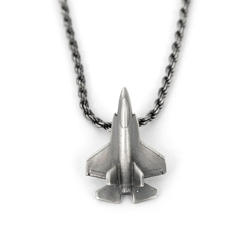 F 35 Jet Fighter Airplane Necklace