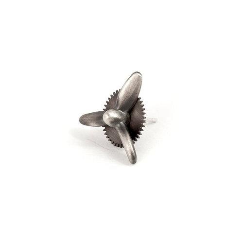 Propeller Earring Sterling Silver