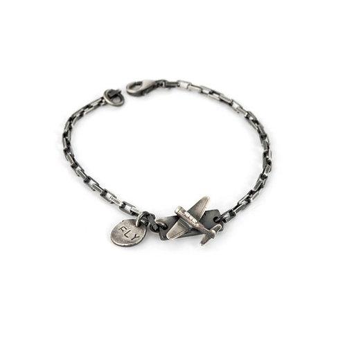 Airplane Chain Bracelet