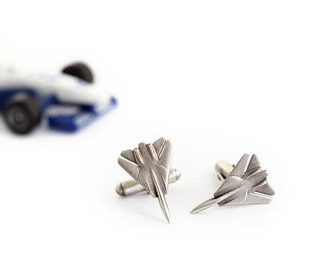 Fighter cufflinks F14 F15