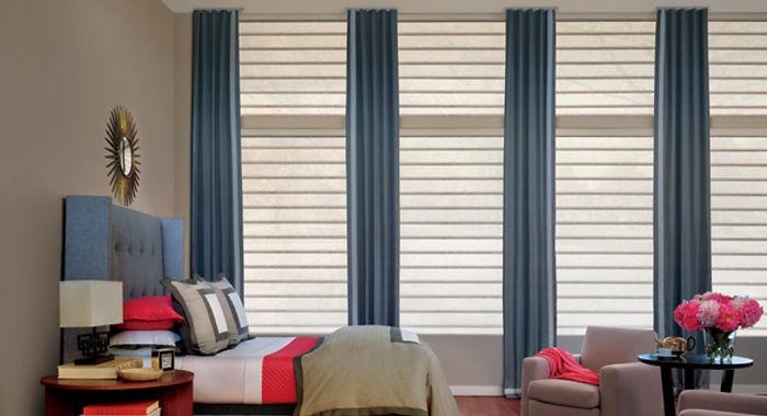 Persianas enrollables, persianas sheer elegance, persianas modernas, persianas en linea, persianas celulares, tapetes, pisos laminados