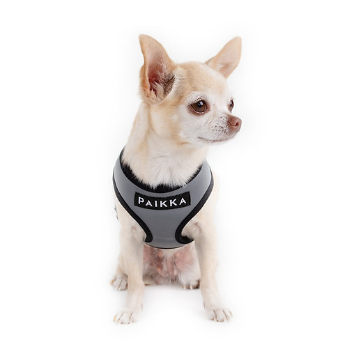 Paikka Black / Grey Visibility Harness - Medium