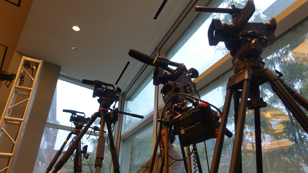 How many cameras should you use for event videos?