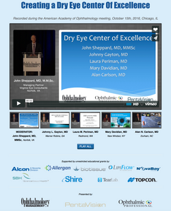 Creating a Dry Eye Center Of Excelle