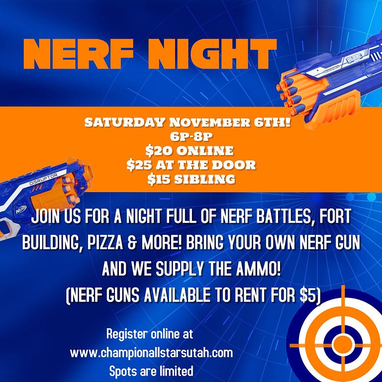 Nerf Night - November