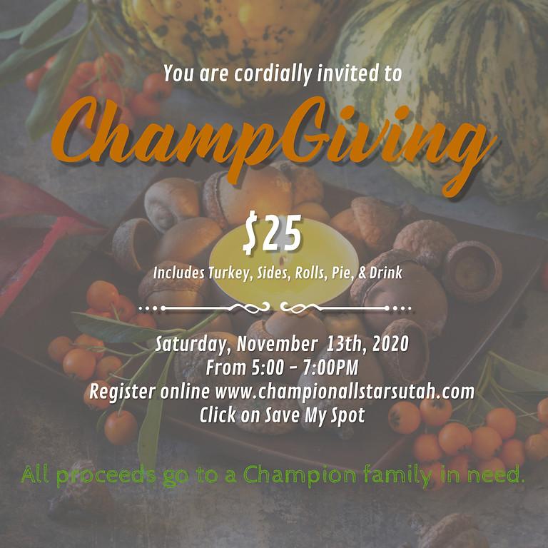 Champ-Giving