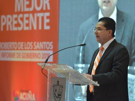 ACUÑA LA CONSTRUIMOS TODOS: ROBERTO DE LOS SANTOS VÁZQUEZ.