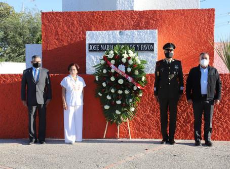 RECUERDAN EL 255 ANIVERSARIO DEL NATALICIO DE JOSÉ MARÍA MORELOS Y PAVÓN