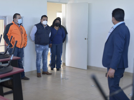 ACONDICIONAN CENTRO DE RECUPERACIÓN PARA PACIENTES COVID