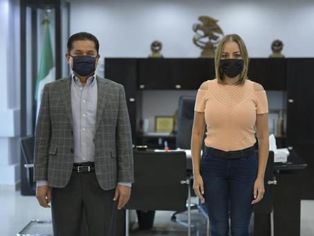 ALCALDE Y UNIÓN DE ORGANISMOS EMPRESARIALES SOLICITAN LA GESTORÍA DE SENADORA SOBRE TEMAS RELEVANTES