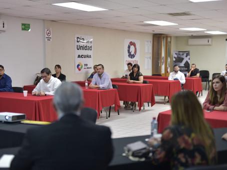 ESTADO Y MUNICIPIO COMUNICAN A EMPRESARIOS LAS MEDIDAS PREVENTIVAS POR EL COVID-19.