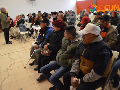 CELEBRÓ EL SISTEMA DIF PRIMERA REUNIÓN DEL 2019 CON ADULTOS MAYORES.