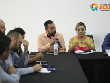 SESIONA EL CONSEJO MUNICIPAL DE PROTECCIÓN CIVIL PARA PREPARAR SIMULACRO POR FUGA DE GAS NATURAL, PA