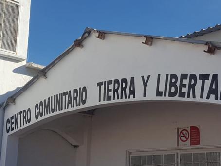 ARRANCAN CURSO DE COSTURA PARA EL HOGAR, EN EL  CENTRO COMUNITARIO TIERRA Y LIBERTAD.