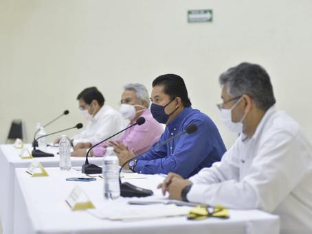 DE FORMA COLEGIADA, CON PRUDENCIA Y DE FORMA ORDENADA DETERMINARÁN  PAULATINAMENTE LA REACTIVACIÓN E