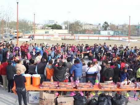 CIENTOS DE FAMILIAS FESTEJAN DÍA DE REYES JUNTO AL GOBIERNO DE UNIDAD 2018