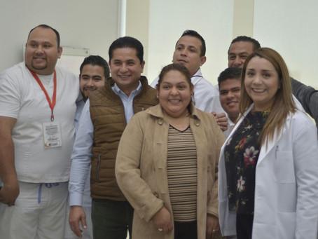 RENOCEN LA LABOR DE ENFERMEROS DE CONSULTORIOS  MÉDICOS MUNICIPALES.