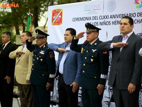 RECUERDAN EL 171 ANIVERSARIO DE LA GESTA HEROICA DE CHAPULTEPEC.
