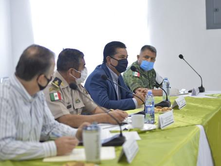 SEGUIRÁ EL TRABAJO COORDINADO PARA MANTENER BAJO  NIVEL DE CONTACTO DE COVID-19.