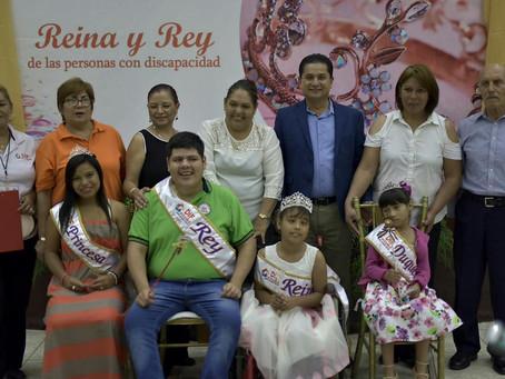 ELIGEN A LA REINA Y REY DE LAS PERSONAS CON DISCAPACIDAD, EN JORNADA ORGANIZADA POR EL SISTEMA DIF.