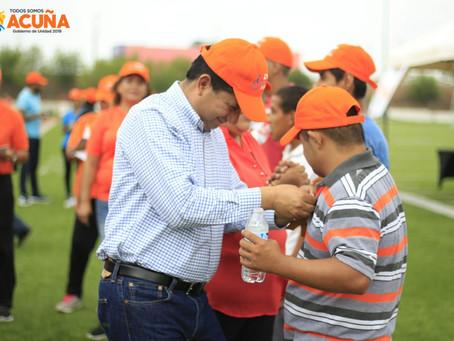PARTICIPAN EN COMPETENCIAS DEPORTIVAS ESTUDIANTES DE  INSTITUCIONES DE EDUCACIÓN ESPECIAL.