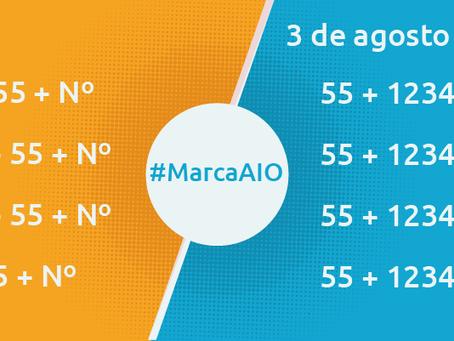 La nueva marcación en México estará vigente a partir del 3 de agosto del 2019.