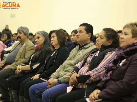 DICTAN CONFERENCIA EN EL DÍA INTERNACIONAL DE LUCHA EN  CONTRA EL CÁNCER DE MAMA.
