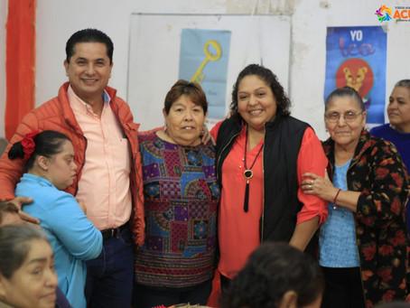 CENTROS COMUNITARIOS RECIBIRÁN A LOS ADULTOS MAYORES  CINCO DÍAS A LA SEMANA.